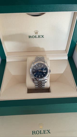 Rolex oyster perpetual Datejust oro blanco