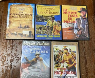 5 películas dvd western