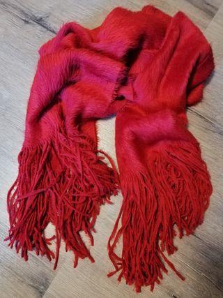 Bufanda color rojo