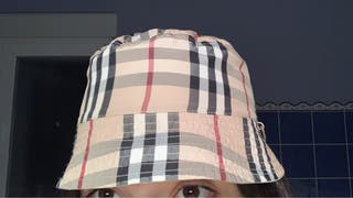 Gorro Burberry bucket hat reversible