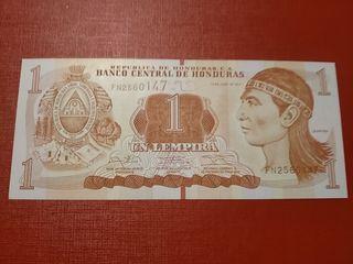 Billete de Honduras 1 lempira SC