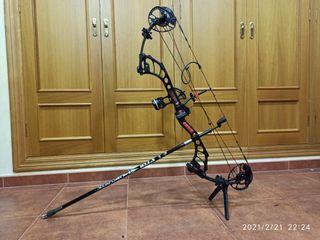 Arco poleas 60 lb, 327-335 FPS