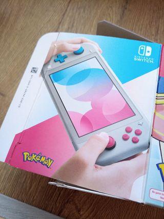 Caja VACIA Switch edición pokemon
