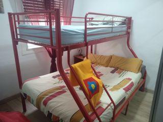 litera cama de matrimonio