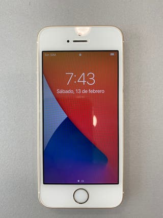 iPhone SE 16GB ORO IMPECABLE 2017