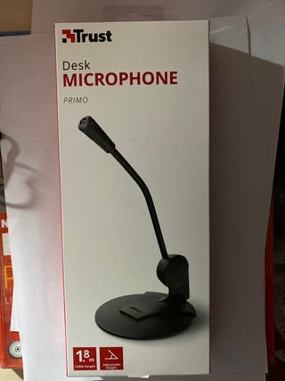 Micrófono con adaptadores
