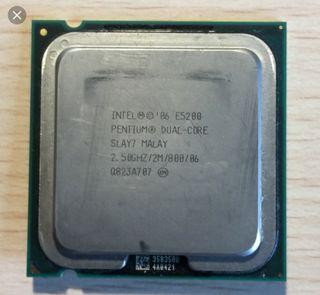 Procesador Intel E5200