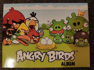 ALBUM VACIO ANGRY BIRDS