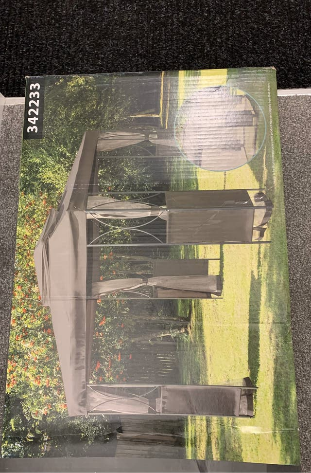Luxury steel frame gazebo