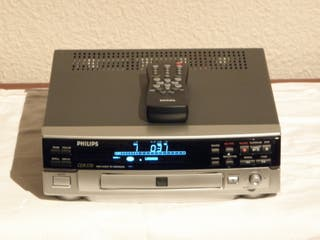 GRABADOR CD AUDIO PHILIPS CDR-570 (IMPECABLE)