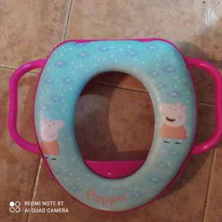 asiento reductor para wc de pepa pig