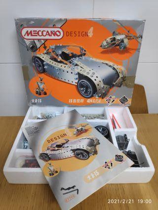 Meccano Design 4 (7700) Vehiculos con Motor