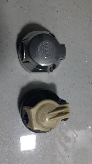 conector remolque plástico y metal