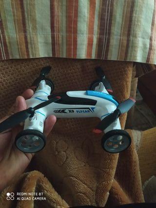dron coche