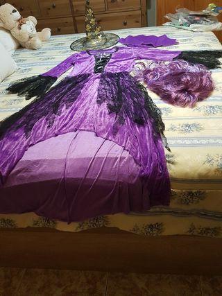 disfraz de mujer de bruja