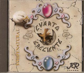 CUARTO CRECIENTE CD Heavy Español 1993 - SPHINX