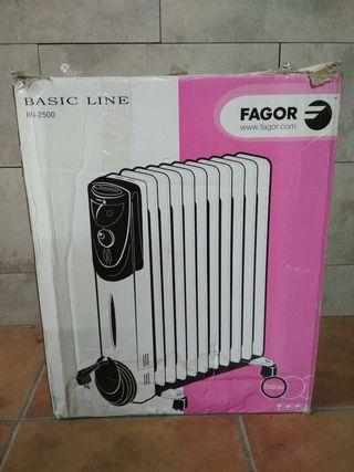 Radiador de aceite Fagor 2500w