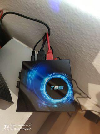Tv box yTeclado Logitech raton