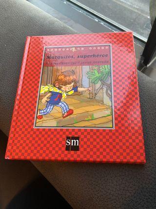 Libro Marquitos superhéroe