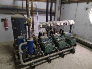 central frigorifica cámara frigorífica