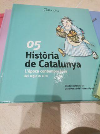 Colección libros historia de Catalunya