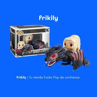 Funko Pop Daenerys & Fiery Drogon (Juego de Trono)