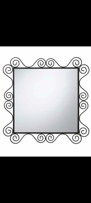 Espejo de Forja Ikea