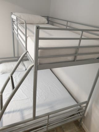 litera cama matrimonio