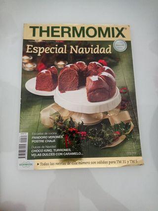 Revistas y libros de recetas de Thermomix
