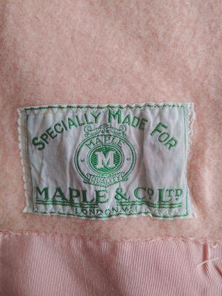 manta lana antigua.