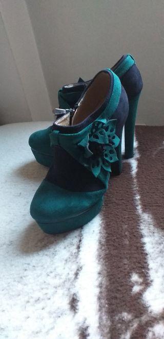 zapatos tacon alto Top Girl