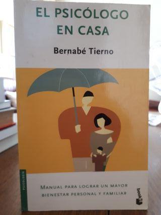 Libro El psicólogo en casa de Bernabé Tierno