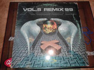 vinilo maquina xque? vol.5 remix 99