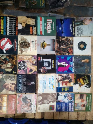 Lote de singles vinilo bandas sonoras.