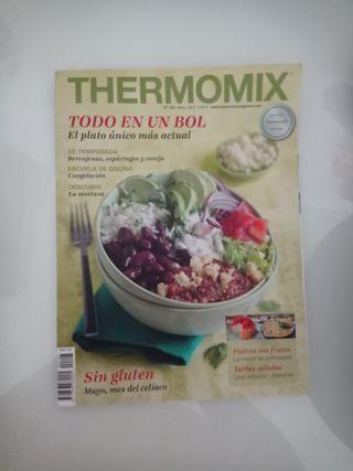 Revistas y libros Thermomix