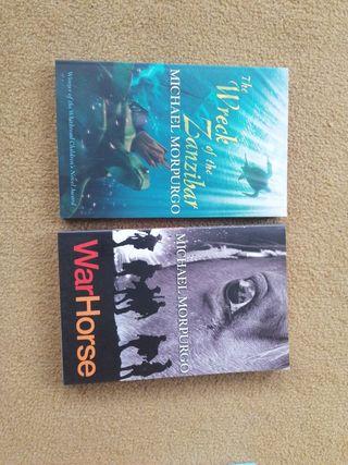 Ficción en ingles: 8 novelas y 16 CDa