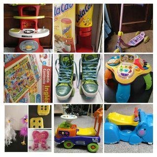 Juguetes y artículos de niños y bebés