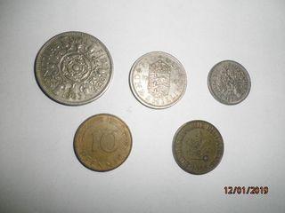 3M. INGLESAS ,2 M. REP. ALEMANA Y BILLETES VARIOS