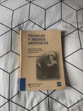 Libro técnicas y medios artísticos - UNED
