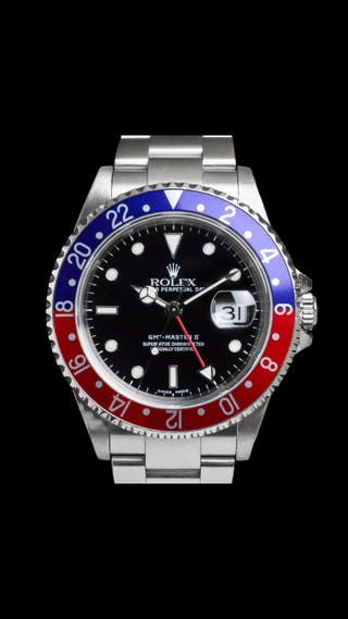 ROLEX GMT MASTER II 16710 PEPSI