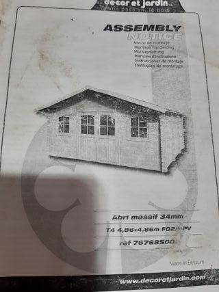 vendo casita madera NUEVA