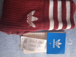 calcetines Adidas trefoil granate