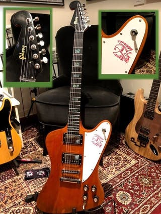 Gibson firebird replica 1964