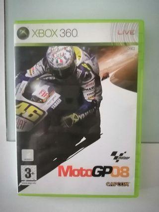 juego xbox 360 moto gp 08