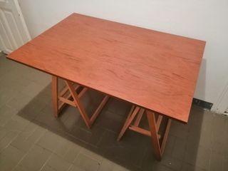mesa caballetes