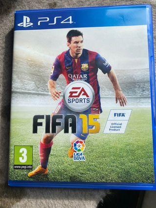FIFA 15, 16, 18, 19 PS4