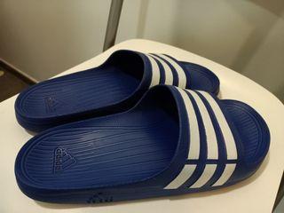Chanclas Adidas ) Azul / talla 41