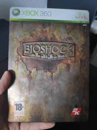 Bioshock Steelbook Xbox 360 PAL ES
