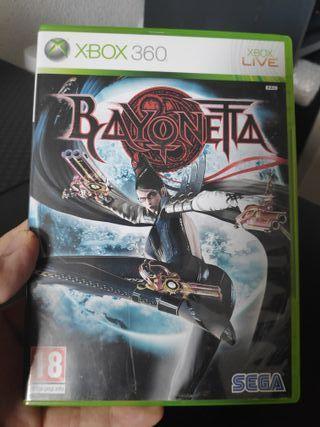 Bayonetta Xbox 360 PAL ES