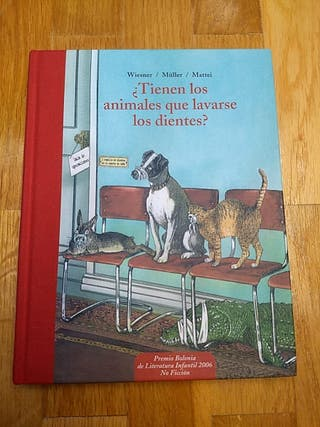 Libro infantil ¿Tienen los animales que lavarse..?